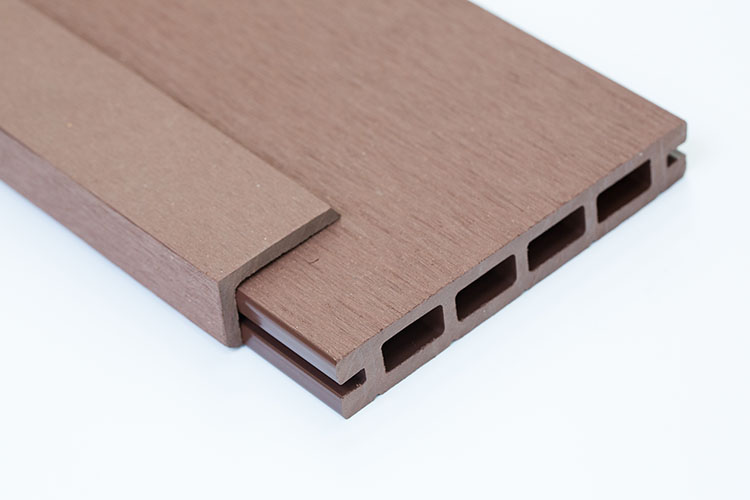 Brown composite decking kits free next day delivery for Cheap decking boards uk